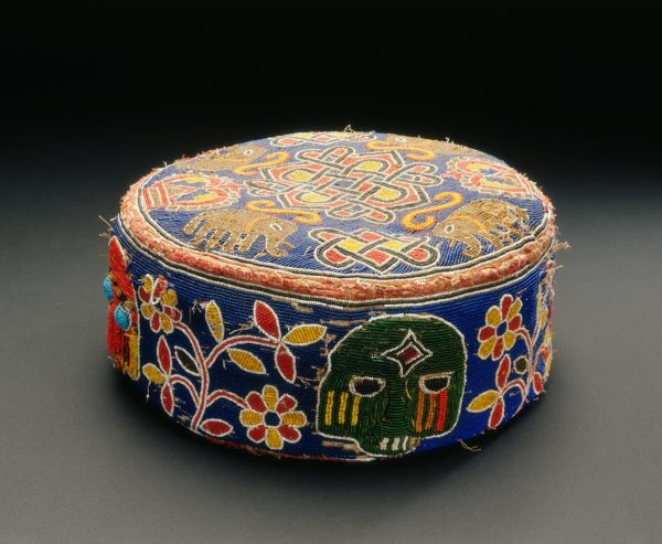 UCLA Fowler Museum Collection: X92.177 Beaded foot cushion