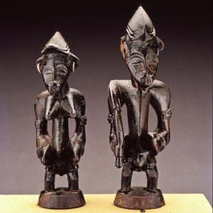 UCLA Fowler Museum Collection: X92.2a,b Madebele divination couple