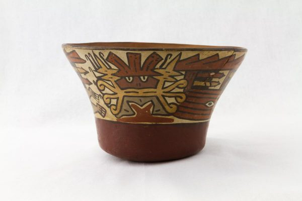 UCLA Fowler Museum Collection: X93.10.1 Nasca vessel back view