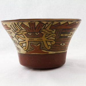 UCLA Fowler Museum Collection: X93.10.1 Nasca vessel front view