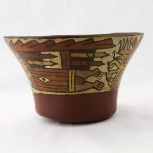 UCLA Fowler Museum Collection: X93.10.1 Nasca vessel left view