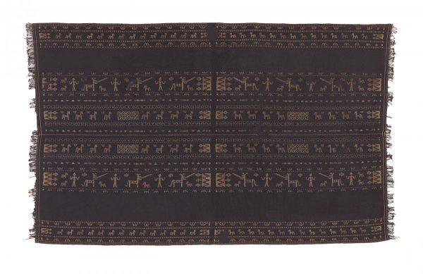UCLA Fowler Museum Collection: X93.26.32 Ceremonial shoulder cloth (lu'e)