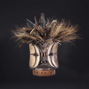 UCLA Fowler Museum Collection: X93.35.1 Alunga Association headdress (m'ma mwitu)