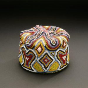 UCLA Fowler Museum Collection: X93.31.2 Beaded Cap