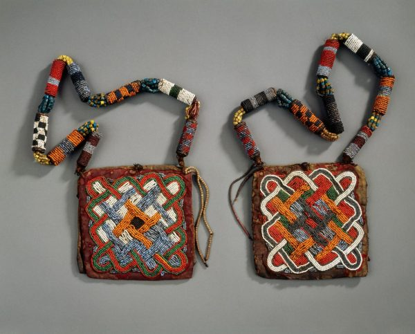 UCLA Fowler Museum Collection: X93.32.6a Beaded bag