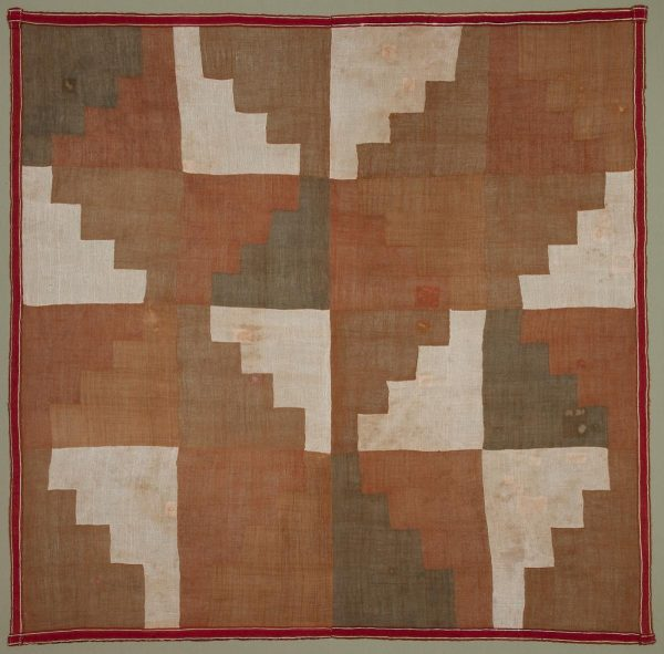 UCLA Fowler Museum Collection: X94.27.11 Panel with stepped design full view