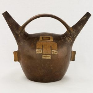 UCLA Fowler Museum Collection: X94.33.1 Wari vessel back view