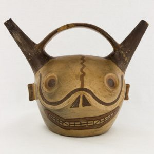 UCLA Fowler Museum Collection: X94.33.1 Wari vessel front view