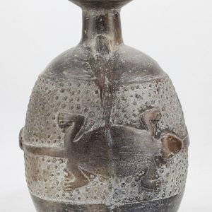 UCLA Fowler Museum Collection: X94.56.5 Chimu Inca vessel left view