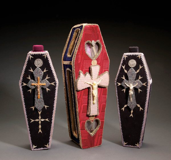 UCLA Fowler Museum Collection: X94.76.16 Three coffins by Perrot Barra