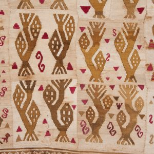 UCLA Fowler Museum Collection: X94.27.6 Panel or tunic with corn plants a more detailed view