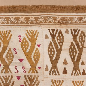 UCLA Fowler Museum Collection: X94.27.6 Panel or tunic with corn plants