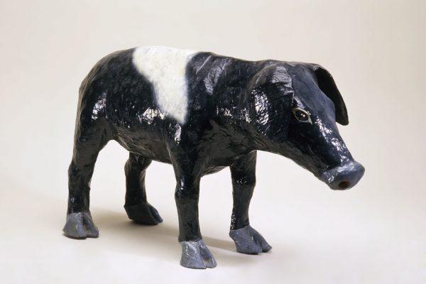 UCLA Fowler Museum Collection: X94.78.1 Papier mache pig
