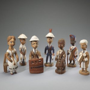 UCLA Fowler Museum Collection: X95.46 (Series of Figures)
