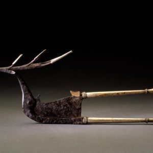 UCLA Fowler Museum Collection: X95.38.155 Areca nut cutter (kacip) in the form of a stag