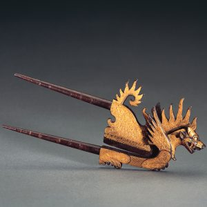 UCLA Fowler Museum Collection: X95.38.177 Areca nut cutter (kacip) in the form of a mythical lion (singha)