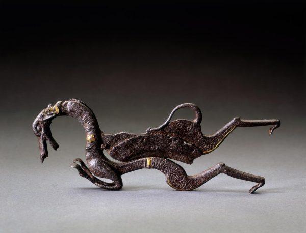 UCLA Fowler Museum Collection: X95.38.57 Areca nut cutter, saluki hound