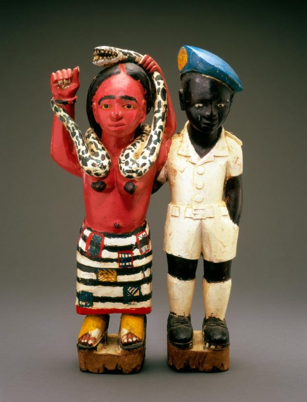 UCLA Fowler Museum Collection: X95.43.2 Mami Wata with Companion