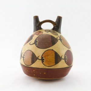 UCLA Fowler Museum Collection: X96.8.38 Nasca vessel back view