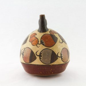 UCLA Fowler Museum Collection: X96.8.38 Nasca vessel left view