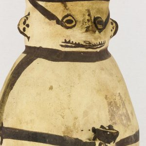 UCLA Fowler Museum Collection: X96.8.44 Chancay vessel detailed view