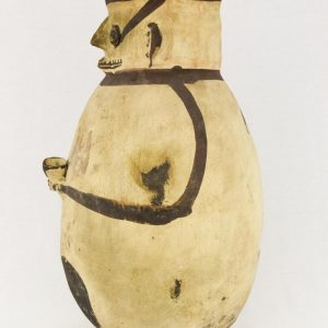 UCLA Fowler Museum Collection: X96.8.44 Chancay vessel left view