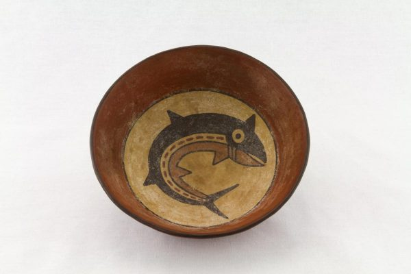 UCLA Fowler Museum Collection: X96.8.46 Nasca vessel top view