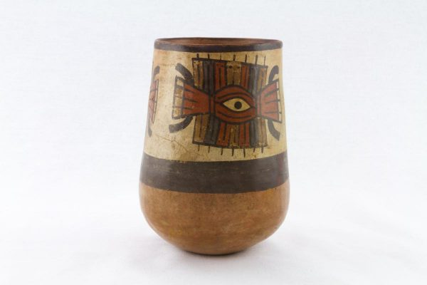 UCLA Fowler Museum Collection: X96.8.47 Nasca vessel back view
