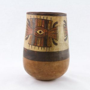UCLA Fowler Museum Collection: X96.8.47 Nasca vessel left view