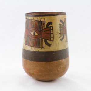 UCLA Fowler Museum Collection: X96.8.47 Nasca vessel right view