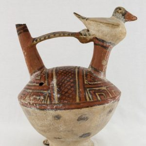 UCLA Fowler Museum Collection: X96.8.48 Wari vessel right view