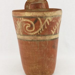 UCLA Fowler Museum Collection: X96.8.51 Tiwanacu vessel back view