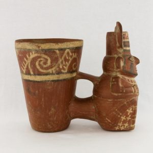 UCLA Fowler Museum Collection: X96.8.51 Tiwanacu vessel right view