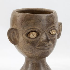 UCLA Fowler Museum Collection: X96.8.58 Moche vessel angle view