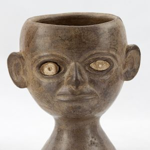 UCLA Fowler Museum Collection: X96.8.58 Moche vessel front view