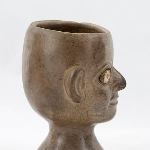UCLA Fowler Museum Collection: X96.8.58 Moche vessel left view