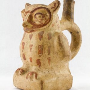 UCLA Fowler Museum Collection: X96.8.59 Moche vessel left view