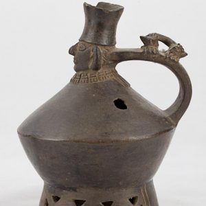 UCLA Fowler Museum Collection: X96.8.60 Lambayeque vessel right view
