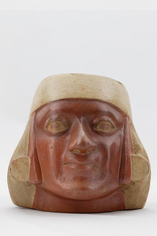 UCLA Fowler Museum Collection: X96.8.63 Moche vessel front view