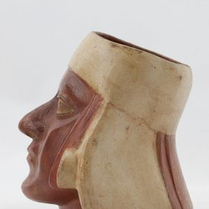 UCLA Fowler Museum Collection: X96.8.63 Moche vessel left view