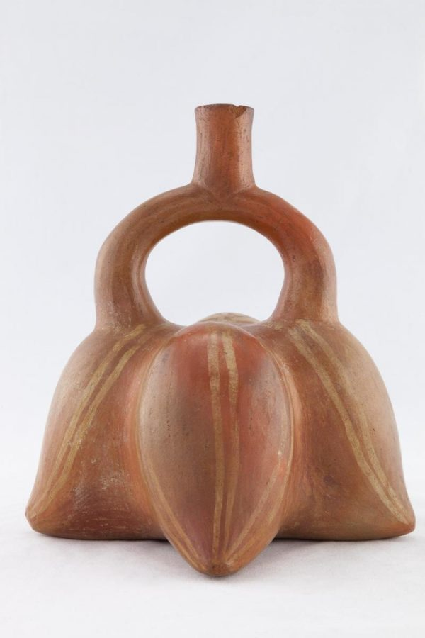UCLA Fowler Museum Collection: X96.8.66 Moche vessel front view