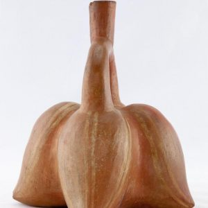 UCLA Fowler Museum Collection: X96.8.66 Moche vessel left view