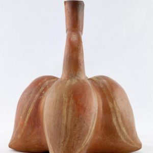 UCLA Fowler Museum Collection: X96.8.66 Moche vessel right view
