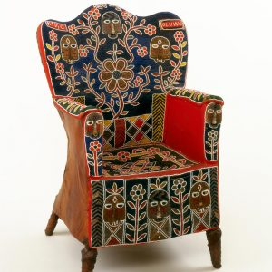 UCLA Fowler Museum Collection: X96.3.1 Beaded chair