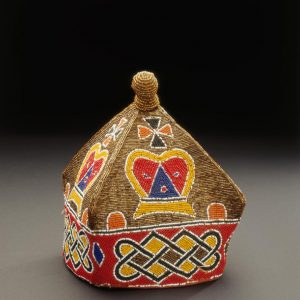UCLA Fowler Museum Collection: X96.3.10 Beaded cap