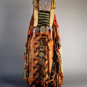 UCLA Fowler Museum Collection: X96.3.7 Mask Ensemble