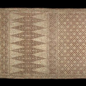 UCLA Fowler Museum Collection: X97.50.81 Skirt cloth (saruang)