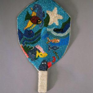 UCLA Fowler Museum Collection: X97.37.1 Yemoja fan