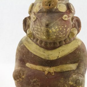 UCLA Fowler Museum Collection: X99.49.1 Moche vessel detailed view