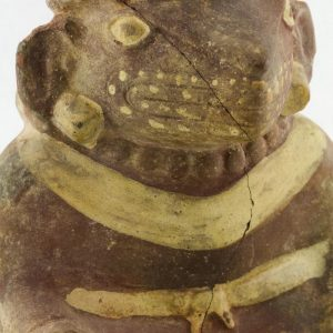 UCLA Fowler Museum Collection: X99.49.1 Moche vessel more detailed view